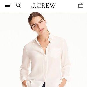 J. Crew Silk Blouse sz 4